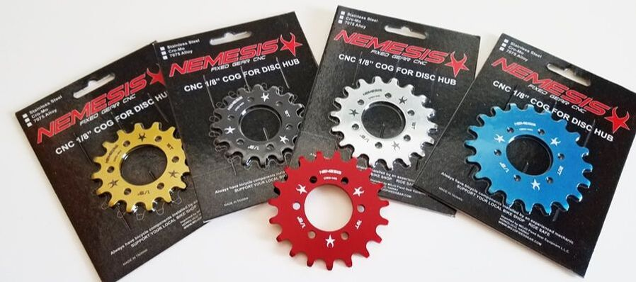 MOJO Alloy Chainring Bolts Single Speed Track Fixed Gear RED